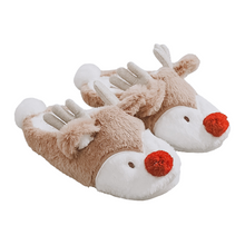 Load image into Gallery viewer, Reindeer Slippers