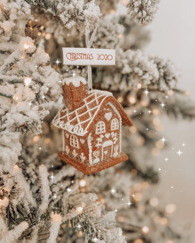 Christmas 2020 Gingerbread House Ornament Collectable