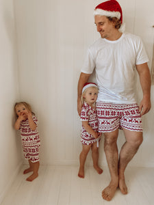 Fair Isle PJ's - Mens Shorts
