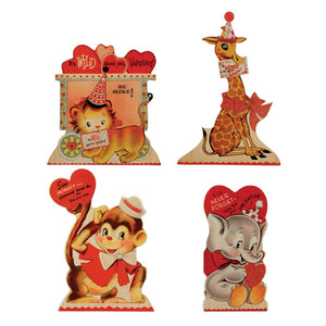 Wild About You Valentines Dummy Board Set of 4 - RL6555