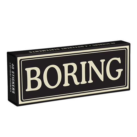 Boring Sticker Pack