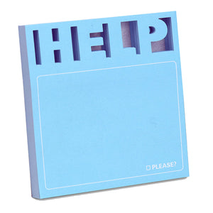 Help! Diecut Sticky Notes