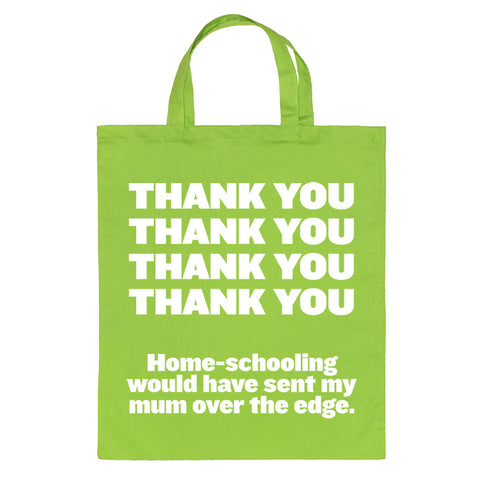 Thank You Tote Bag for Teachers