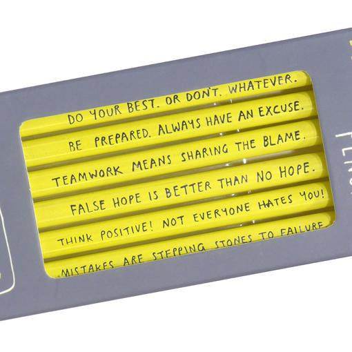 De-Motivational Pencils