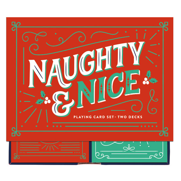Naughty & Nice Playing Cards