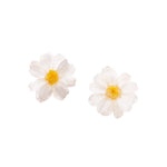 Load image into Gallery viewer, *REAL FLOWER* Paris Daisy Stud Earrings