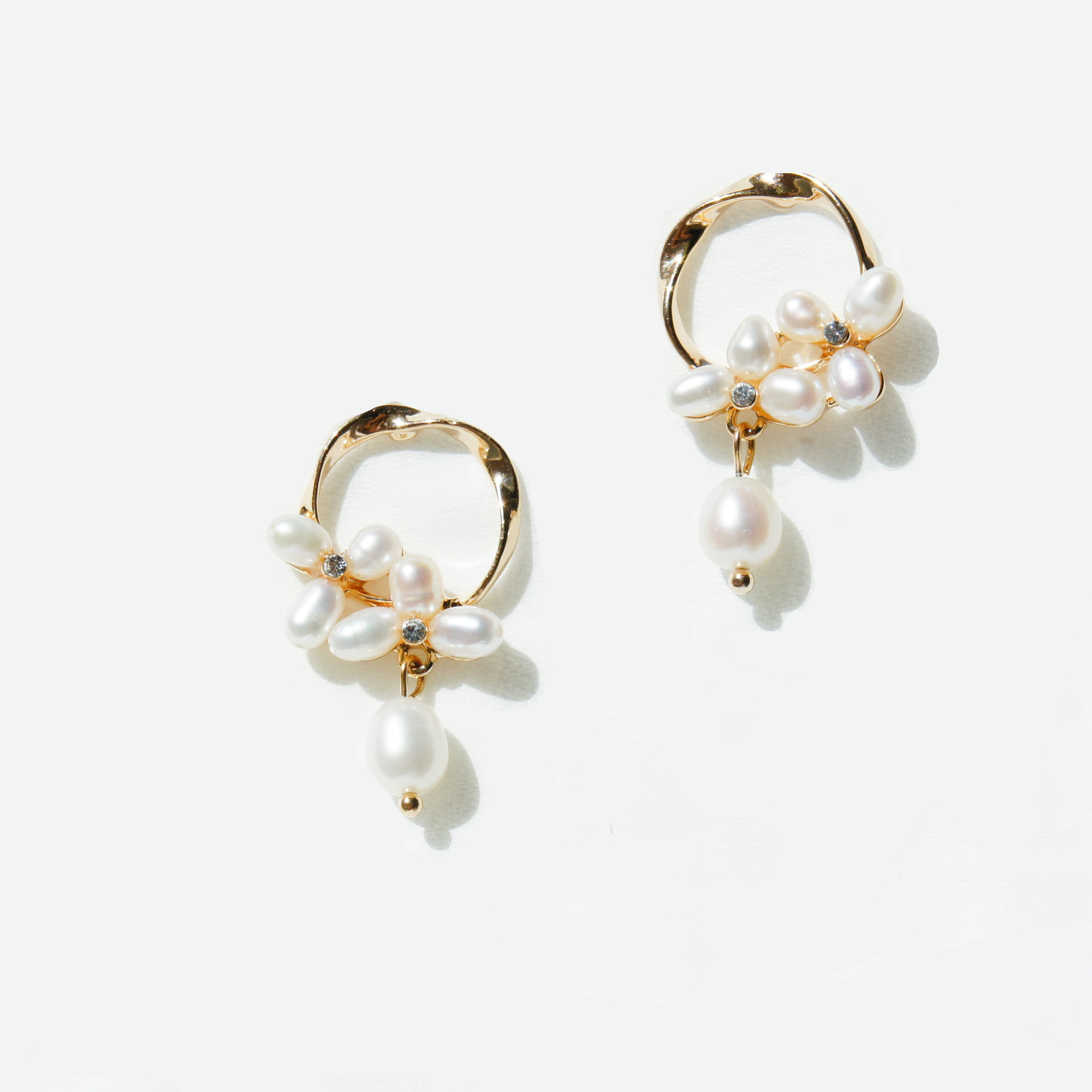 Florence Freshwater Pearl Drop Earrings