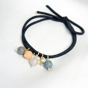 Planet Love Gemstone-embellished Hair Tie-Band