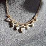 Load image into Gallery viewer, Amoretti Mother Of Pearl Heart Necklace
