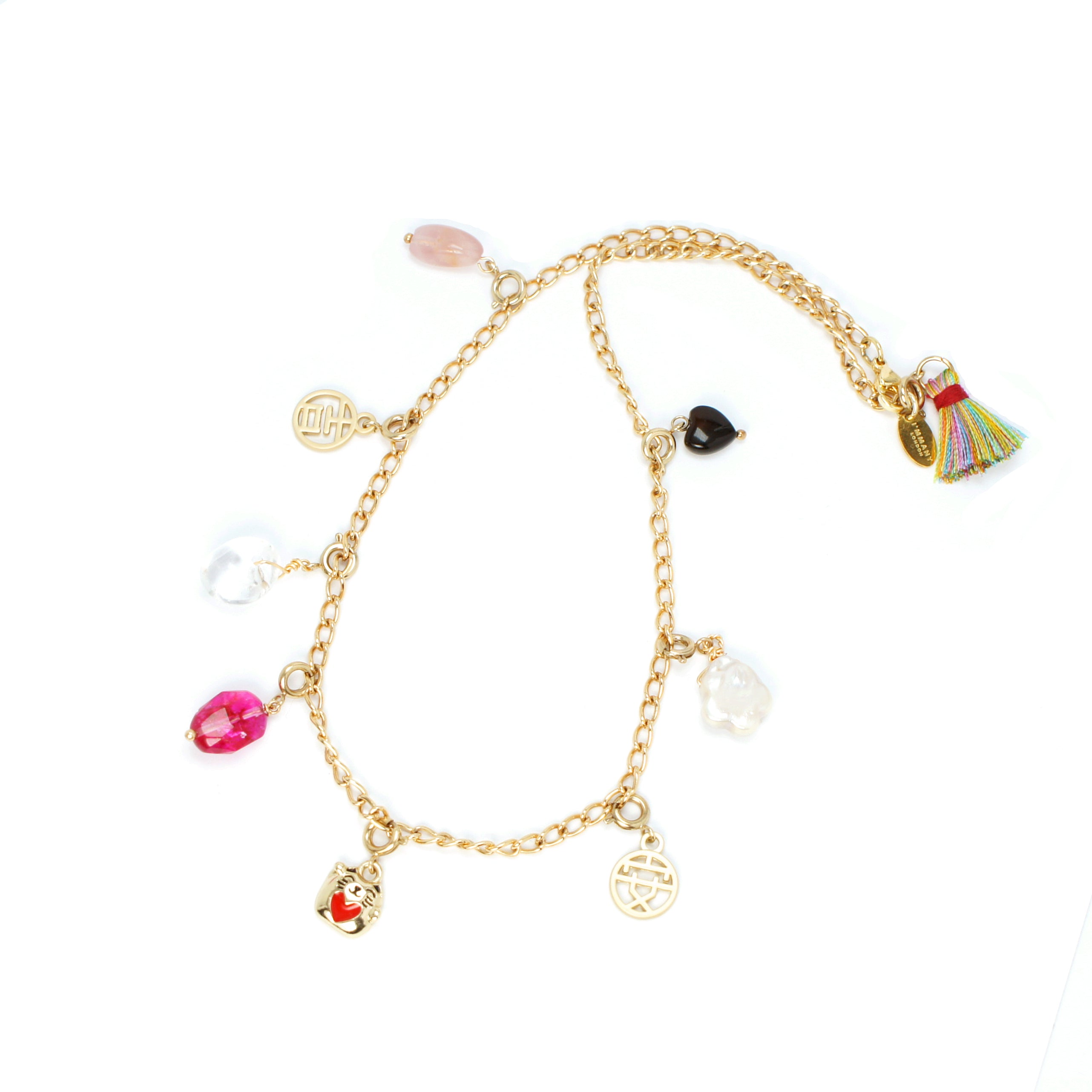 Best Wishes Charm Necklace