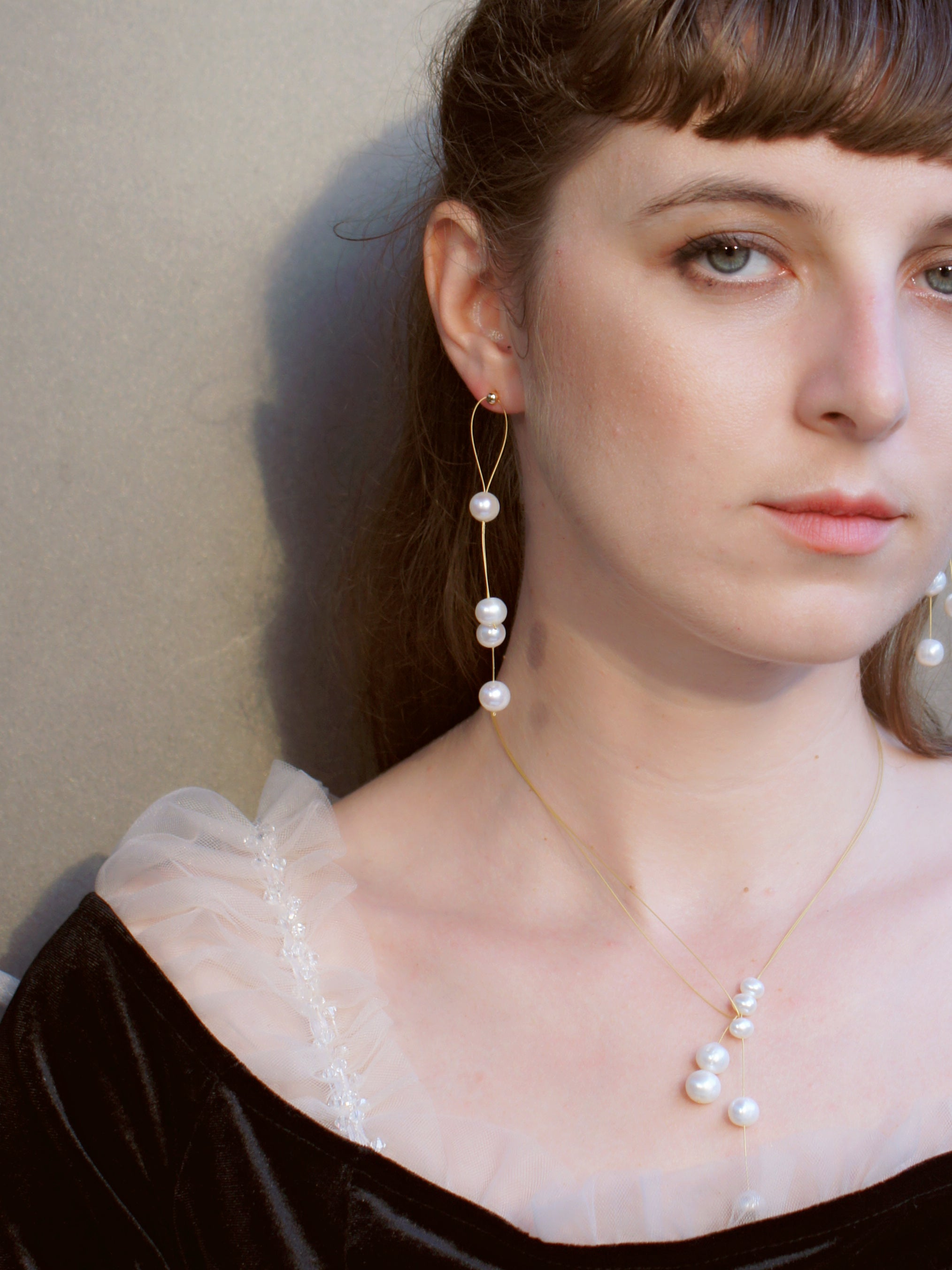 Golden Hour Freshwater Pearl Necklace