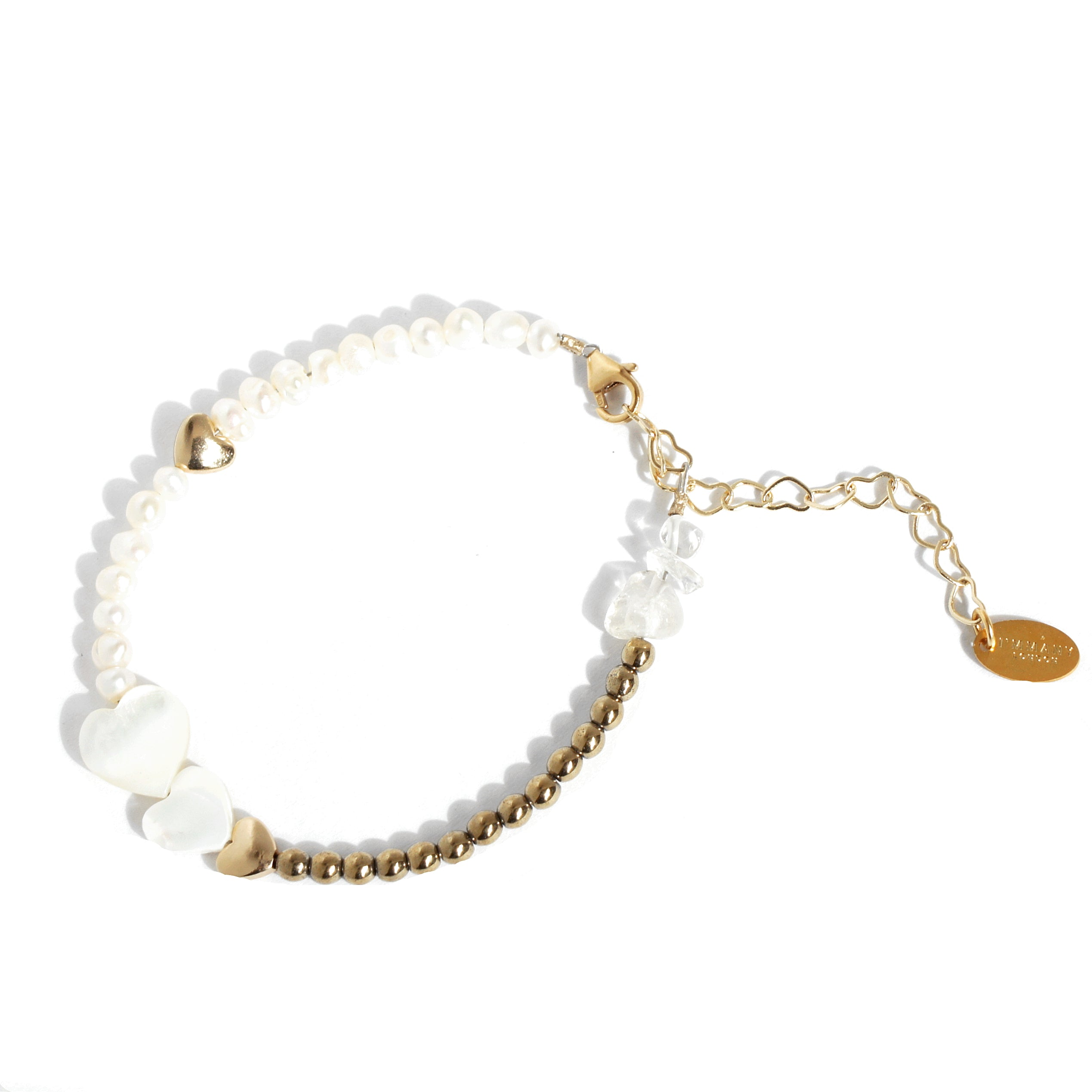 Kind-hearted Mother of Pearl Bracelet