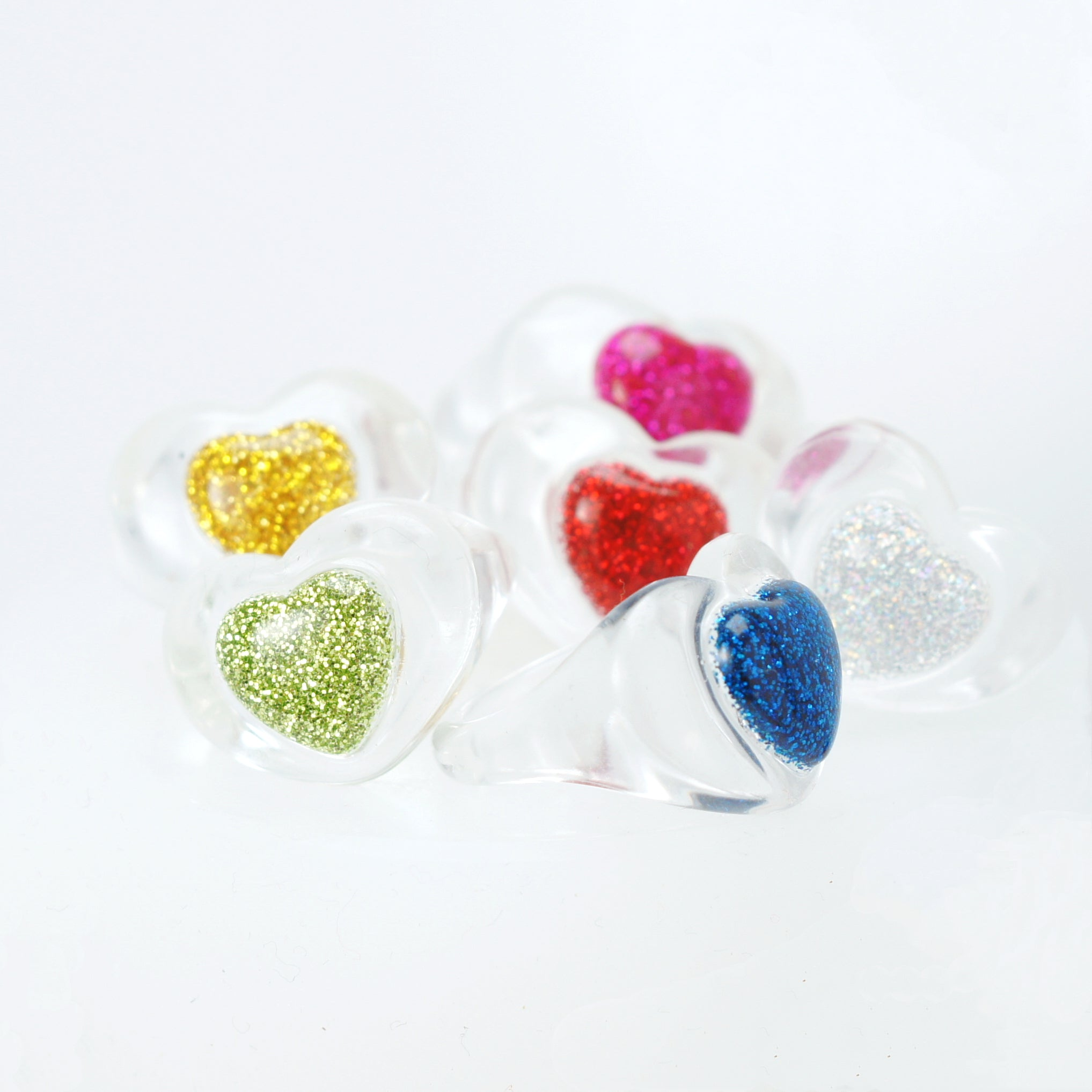 Love Power Resin Ring