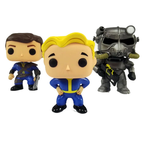 FALLOUT LONE WANDERER & VAULT  Action Figure