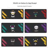 Rainbow Six Siege Gaming Mouse pad  900x400 mm Rubber