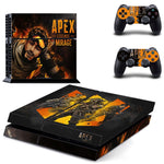 For Apex Legends PVC Vinyl Sticker Skin Cover For PS4 Controller For Playstation Dualshock 4 Console Gamepad Decal