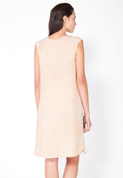 Summer Ferns Shift Dress - Blush