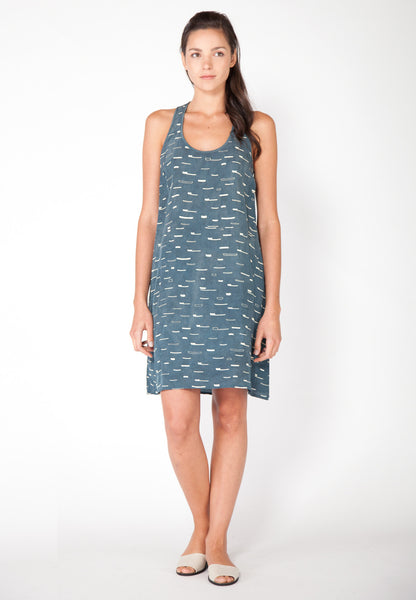 Sails Tank Dress - Marine