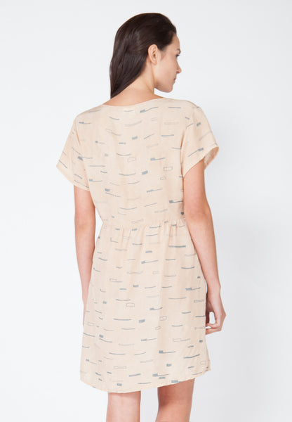 Sails Tee Dress - Blush