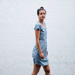 Sails Scoop Dress - Chambray