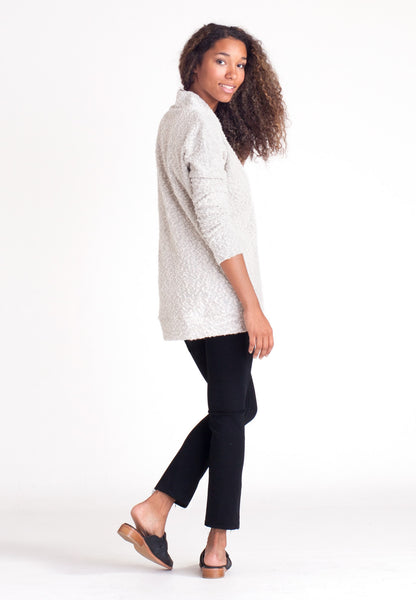 Pebble Knit Tunic - Cream