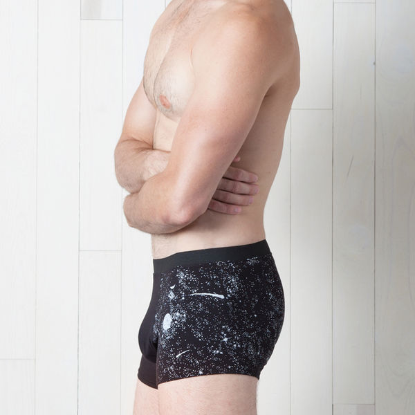 Glow-in-the-Dark Solar System Men's Trunks