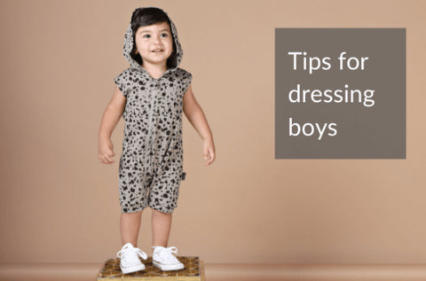 Boys Clothes: Top tips for dressing kids