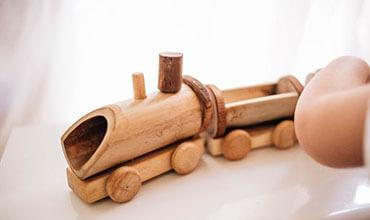 boys wooden toy range