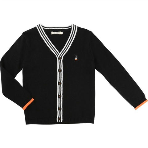 Billybandit Cardigan Black - Little Gents Store