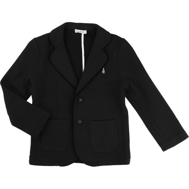 Billybandit Black Fleece Jacket - Little Gents Store