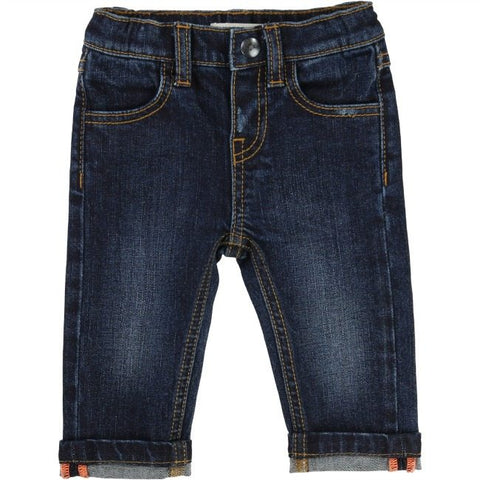 Billybandit Blue Cuffed Jeans - Little Gents Store