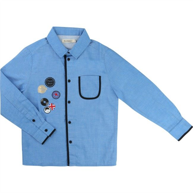 Billybandit Electric Blue Shirt - Little Gents Store