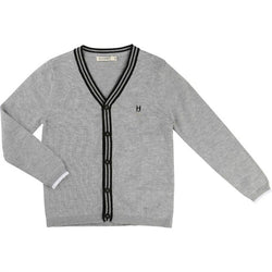 Billybandit Cardigan Grey Marl - Little Gents Store