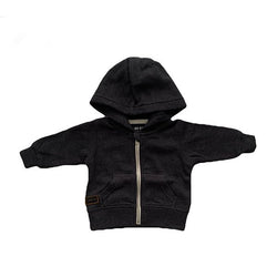 Indie Kids Haneda Hoodie Charcoal - Little Gents Store