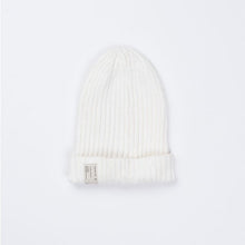 Indie Kids Slouch Knit Beanie White - Little Gents Store