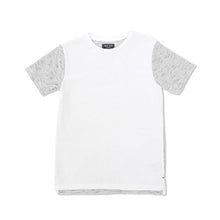 Indie Kids Striped Back Tee White - Little Gents Store