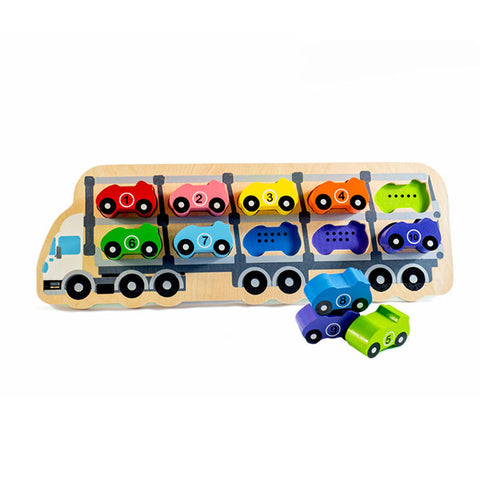 Kiddie Connect 1-10 Car Puzzle main