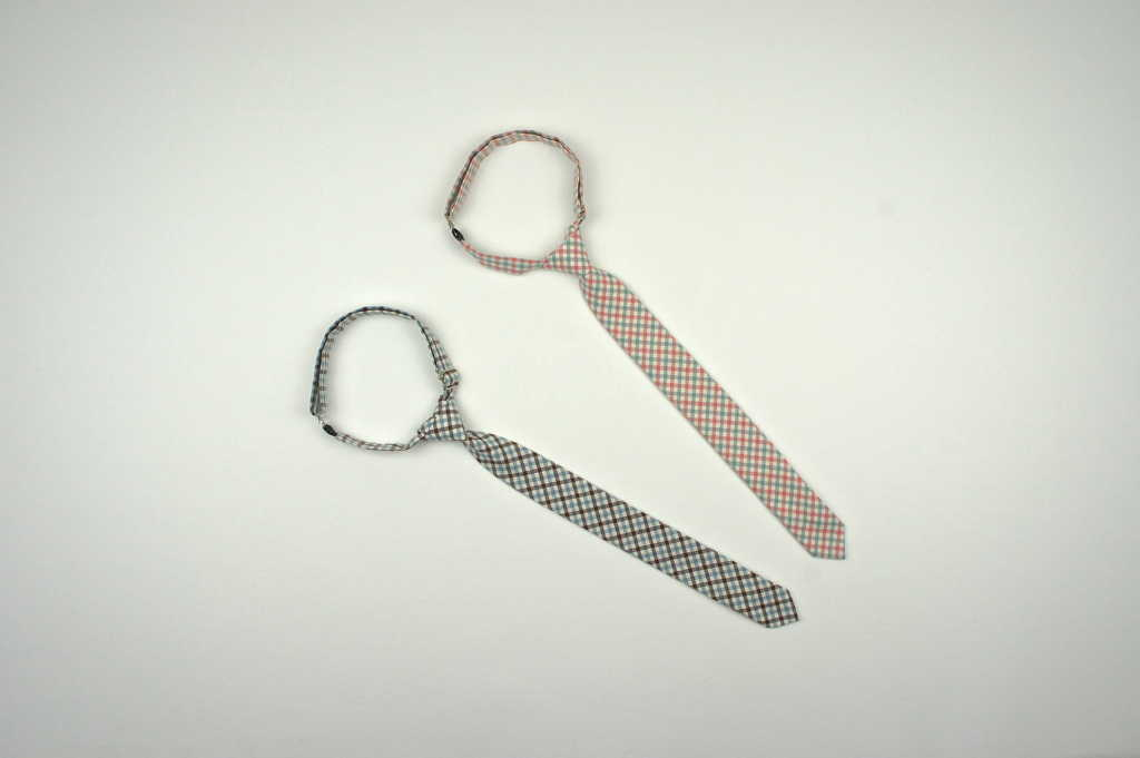 Gingham Skinny Tie - Little Gents Store