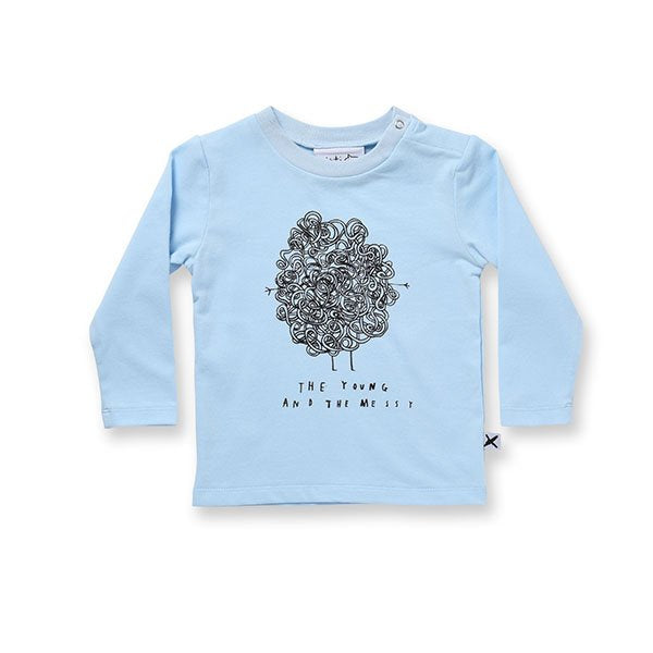 Minti Young & Messy Tee - Little Gents Store