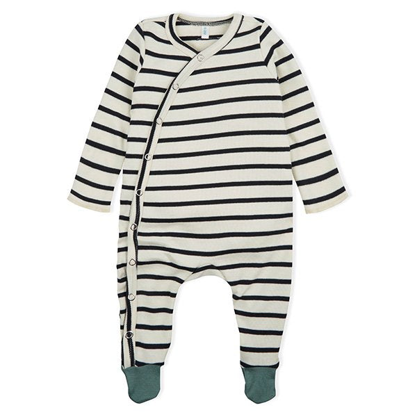 Organic Zoo Breton Suit with Contrast Feet - Little Gents Store