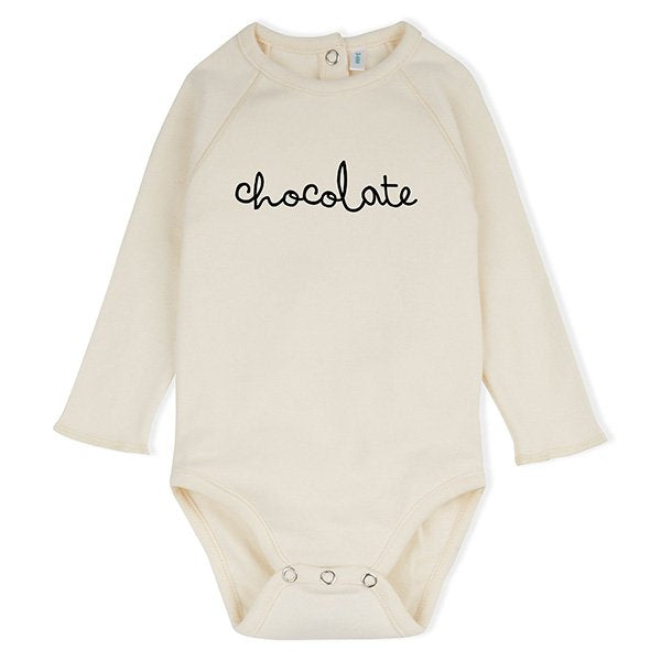 Organic Zoo Natural Chocolate Bodysuit - Little Gents Store