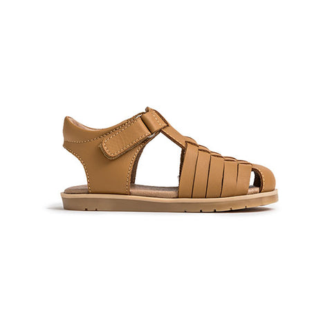Pretty Brave Frankie Tan Sandal side view