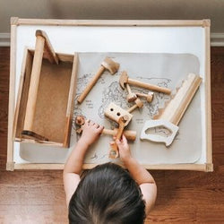 QToys Wooden Tool Set