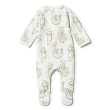 Wilson and Frenchy Baby Sloth Zipsuit - Little Gents Store