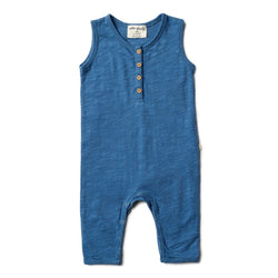 Wilson & Frenchy Deep Blue Growsuit - Little Gents Store