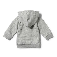 Wilson and Frenchy Grey Fleck Hooded Jacket - Little Gents Store