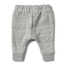 Wilson and Frenchy Grey Fleck Terry Pant - Little Gents Store