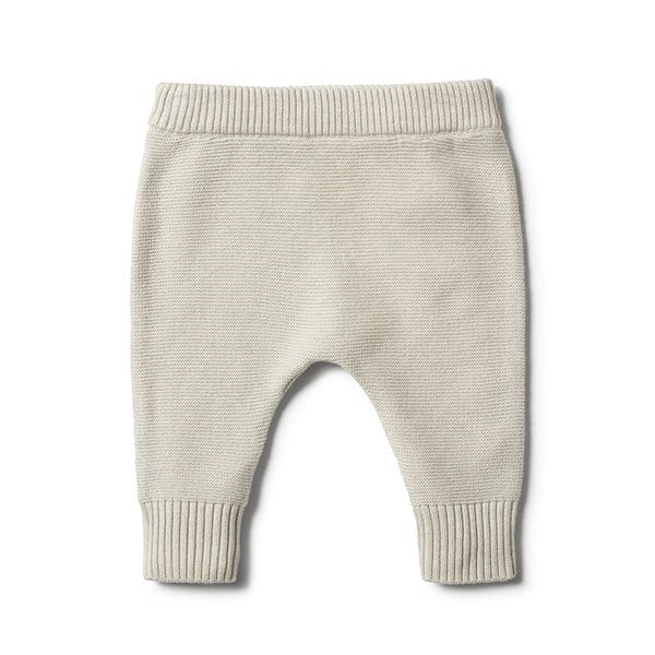 Wilson and Frenchy Ice Grey Knitted Legging - Little Gents Store