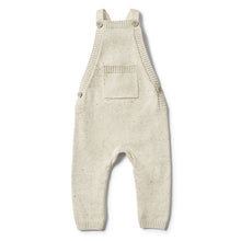Wilson and Frenchy Olive Speckle Knitted Overall - Little Gents Store