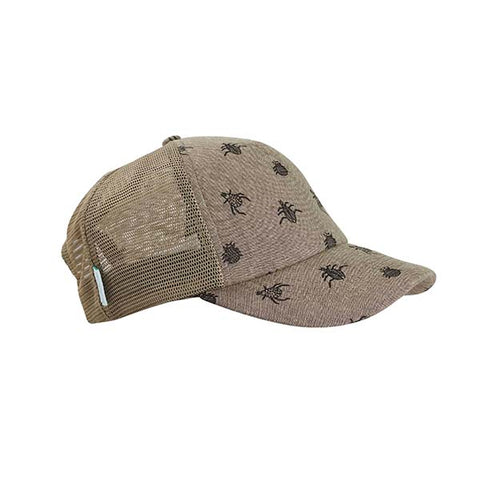 Acorn Kids Bugs Chambray Trucker Hat